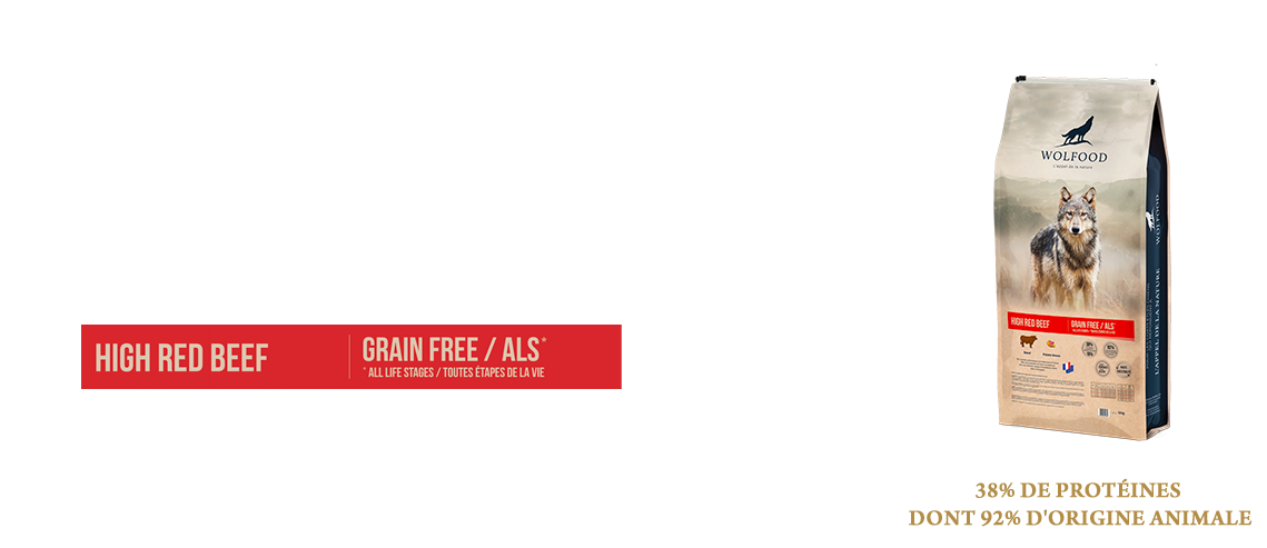 WOLFOOD RED BEEF