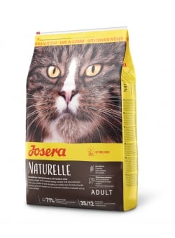 Image NATURELLE STERILISED CAT  sac de 10 kg