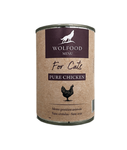 Boîtes PURE CHICKEN FOR CATS
