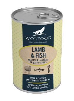 Image Boites LAMB & FISH pack de 12 boites de 400 g