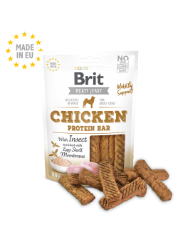 Image CHICKEN WITH INSECT PROTEIN BAR sachet de 80 g
