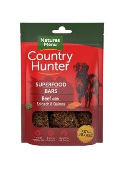 Country Hunter Boeuf avec épinard et quinoa
