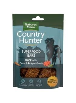 Country Hunter Canard avec carotte et graines de citrouille