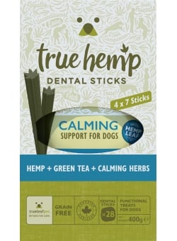 BÂTONNETS DENTAIRES MULTIBOX TRUE HEMP™ • CALMING / CHIEN