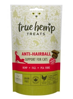 FRIANDISES TRUE HEMP™ • ANTI HAIRBALL / CHAT