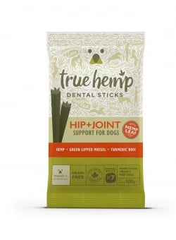 BÂTONNETS DENTAIRES TRUE HEMP™ • HIP & JOINT / CHIEN
