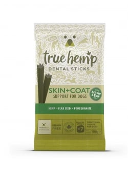 BÂTONNETS DENTAIRES TRUE HEMP™ • SKIN+COAT / CHIEN