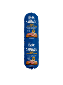Image produit Brit Premium Sausage Sport – Beef & Fish