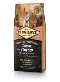 Image produit PUPPY LARGE SALMON TURKEY