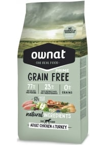 Image produit PRIME GRAIN FREE ADULT CHICKEN TURKEY