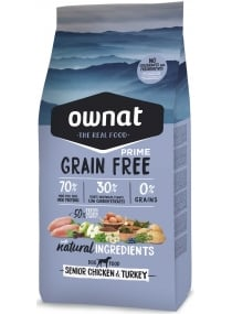 Image produit PRIME GRAIN FREE SENIOR CHICKEN & TURKEY