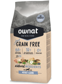 Image produit JUST GRAIN FREE ADULT LAMB