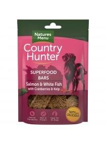 Image produit Country Hunter Saumon et poisson blanc avec canneberges et varech